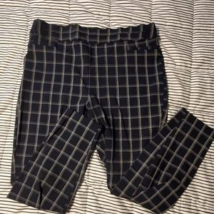 Maurices Plaid Trousers
